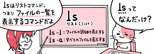 linux lsコマンド
