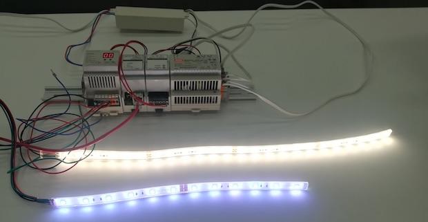DALI規格の照明装置であるLEDテープ