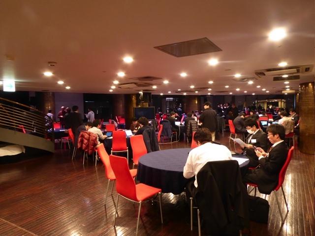 ジャスマックプラザのザナドゥで開催。ホテルのホールで行われます
