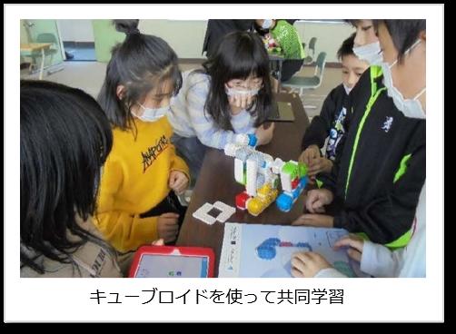 キューブロイドを使って共同学習