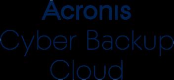 Acronis Cyber Backup Cloud