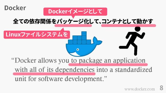 Dockerについての説明