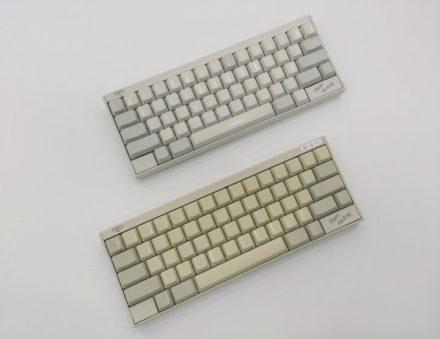 真っ白なキーボード