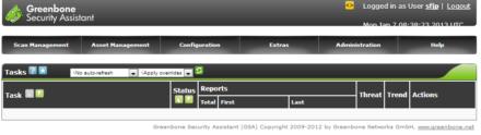 図2 GSAの「Tasks」画面