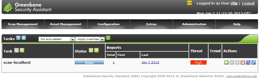 脆弱性スキャナ「OpenVAS」でのセキュリティチェック | さくらの