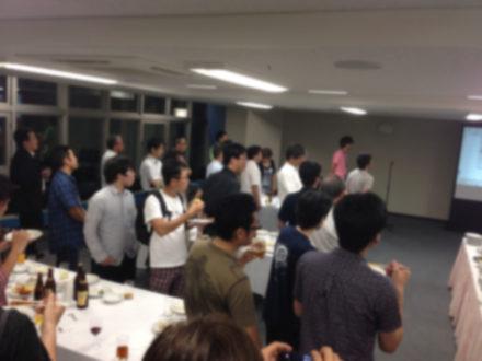 さくらの夕べin大阪 懇親会