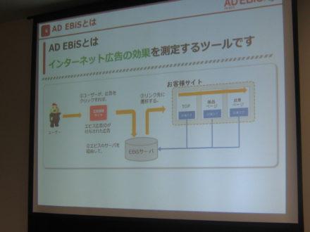 AD EBiSとはインターネット広告の効果を測定するツールです
