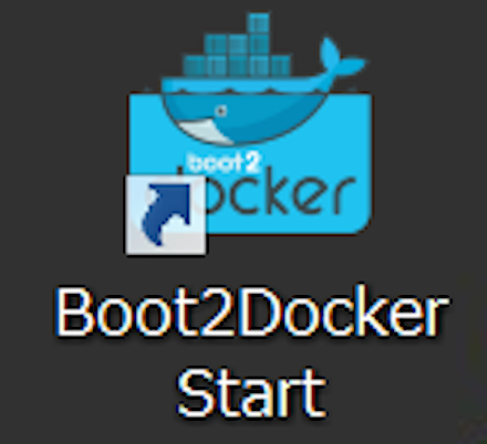 Docker for Windowsのアイコン