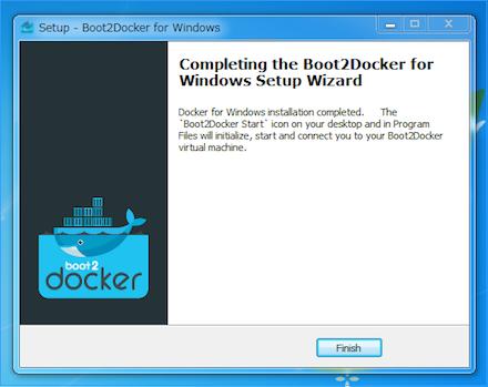 Docker for Windowsのインストーラー