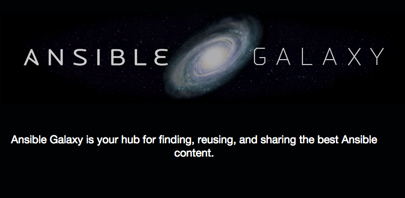 ansible-galaxy