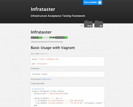 インフラの自動テストツール「Infrataster」を試す