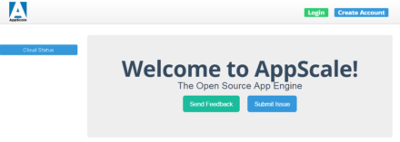 図2 AppScaleの管理コンソール