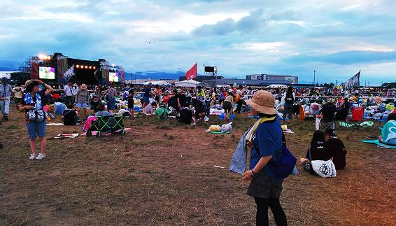 RISING SUN ROCK FESTIVAL 2015 in EZO(RSR)