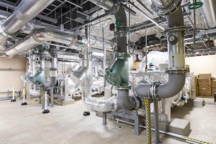 石狩DC 熱源機械室