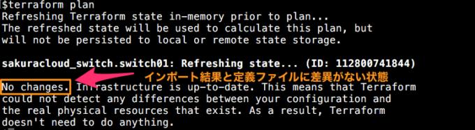 スイッチのインポート例3