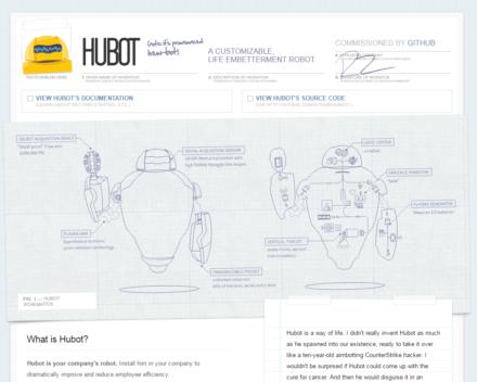 図1 HubotのWebサイト