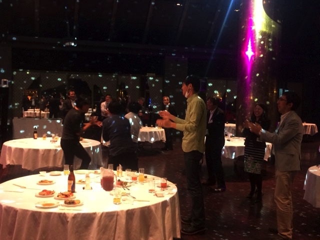 Kita-Tech懇親会の一幕