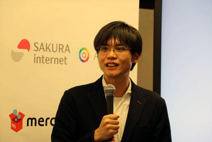 さくらインターネット 代表取締役社長の田中邦裕氏