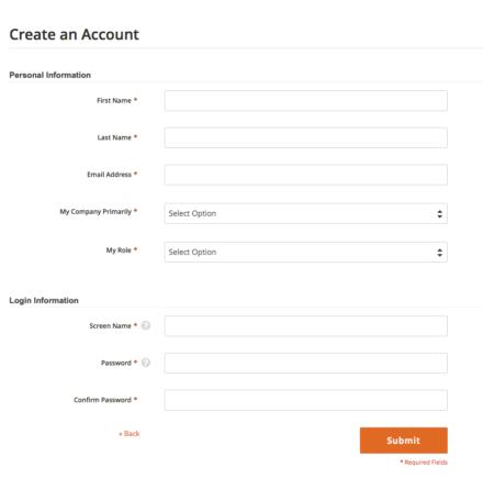 Magento公式アカウント登録
