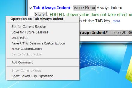 図8 「State」ボタンをクリックすると設定の保存などの操作を行える