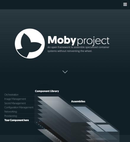 図2 Moby ProjectのWebサイト