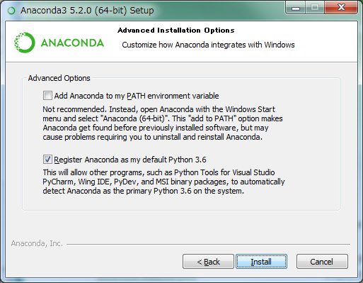 科学計算向けPython環境を簡単にインストールできる「Anaconda」入門